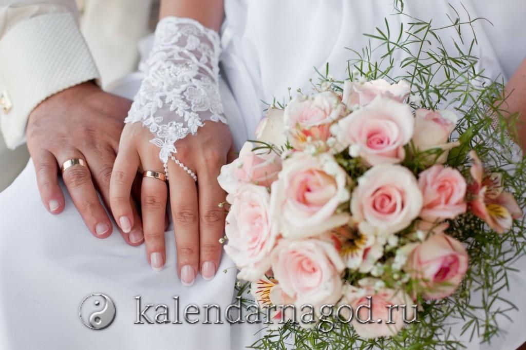 Благоприятные дни для свадьбы в январе 2022 года